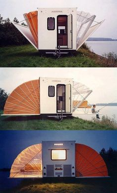 Campers of old. Now THAT is cool!
