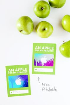 DIY Gifts 2018 Love this cute card for giving and iTunes Gift Card for Teacher Appreciation via Teachers Day Gifts, Best Teacher Gifts, Teacher Christmas Gifts, Christmas Ideas, Itunes Gift Cards, Free Gift Cards, Teacher Cards, Teacher Appreciation Week, Gift Tags Printable