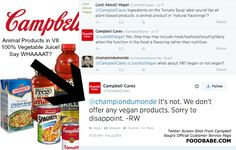UPDATE: How Does Campbell's Soup Not Know What's In Its Own Products