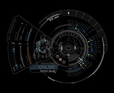 UI design from the Avengers