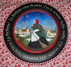 Musings from Behind the Easel - La Befana, the Good Strega (Italian witch) who brings presents to children