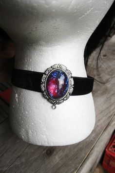 Hey, I found this really awesome Etsy listing at https://www.etsy.com/listing/255724605/dragons-breath-opal-choker-victorian