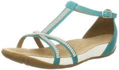 ae56191f2e53 Clarks Women s Rona Sparkle Fashion Sandals White Size  3.5