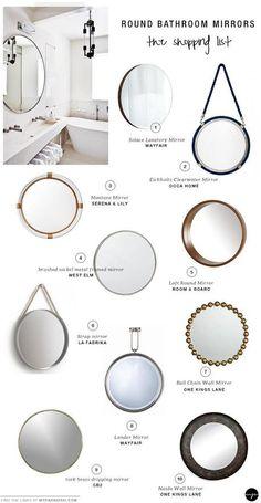 10 BEST: Round bathroom mirrors