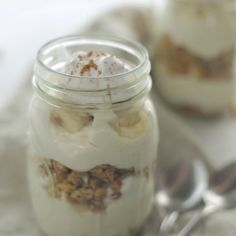 The best thing about this creamy banana dessert in a jar is that you don't have to share!