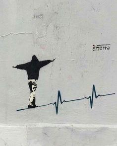 Showcasing the best street art and graffiti from around the world. Banksy Graffiti, Street Art Banksy, Banksy Artwork, Street Art News, Urban Graffiti, Street Artists, Bansky, Street Art Utopia, Banksy Tattoo