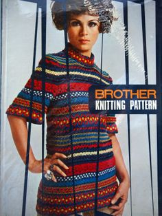 Brother Knitting Pattern For Brother Knitting Machine by NeedANeedle, $74.75