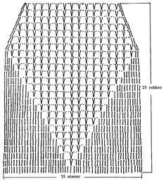 "DROPS 65-13 - Gehäkeltes DROPS Oberteil in ""Safran"" - Free pattern by DROPS Design"