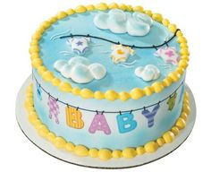 Baby shower / baptism cake