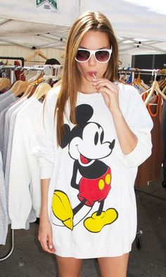 Mickey Mouse rocks the house