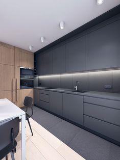 architekt tczew, architekt gdansk, projektowanie wnetrz tczew, 1504 architekci Smart Home, Kitchen Cabinets, Houses, House Design, Spaces, Projects, Ideas, Home Decor, Interiors