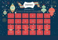 Sportmanns Julekalender 2015 Bli med på Sportmanns julekalender og få muligheten til å vinne flotte premier hver dag!