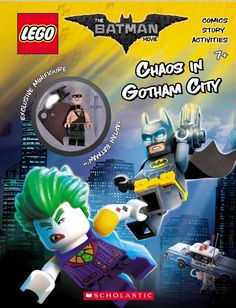 The LEGO Batman Movie: Activity Book with Minfigure + FREE SHIPPING !!