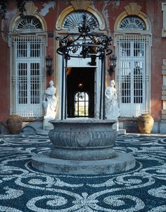 AKG-imágenes -Villa Durazzo, Santa Margherita Ligure, entrance to the garden…