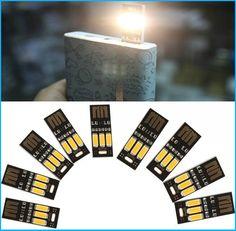 Ucuz Uygulanan! Marka Yeni Mini USB Işık Kamp Gece Mobil USB LED Lamba Beyaz Işık, Satın Kalite usb gadgets doğrudan Çin Tedarikçilerden: Benimseyerek yeni yüksek teknoloji, usb led gece lambası içerir 3 led fitilleri Sıcak ışık. Iki yüzü vardır usb tasarım