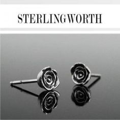 Roses are coming back. Studs, Cufflinks, Stud Earrings, Silver, Roses, Accessories, Education, Jewelry, Jewlery