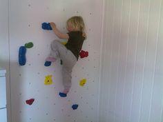 DIY: Klatrevegg på barnerommet - All you knit is love