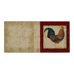 Red Rooster Binders
