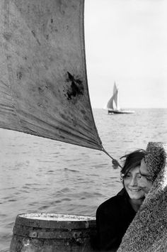 Sergio Larrain CHILE. Between Chiloe Island and Puerto Montt. 1957.