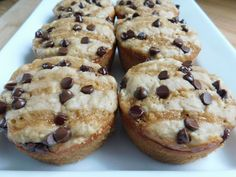 Weight watcher recipes, Chocolate caramel apple muffins by drizzle me skinny (Weight Watchers Chocolate Muffins) Weight Watchers Muffins, Weight Watchers Breakfast, Weight Watchers Desserts, Skinny Recipes, Ww Recipes, Apple Recipes, Muffin Recipes, Recipies, Detox Recipes