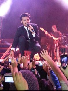 Ignazio thrilling his fans 10/24/2013