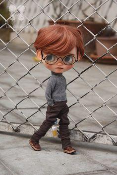Robin Boy. | by little dolls room Cute Cartoon Pictures, Cartoon Pics, Girl Cartoon, Boy Doll, Girl Dolls, Ooak Dolls, Blythe Dolls, Cartoon Wallpaper Hd, Cute Kids Photography