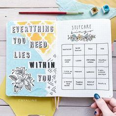 280 Likes, 8 Comments - Carolin Bullet Journal Quotes, Bullet Journal Notebook, Bullet Journal Spread, Bullet Journal Layout, Bullet Journal Ideas Pages, Bullet Journal Inspiration, Journal Prompts, Journals, Bingo