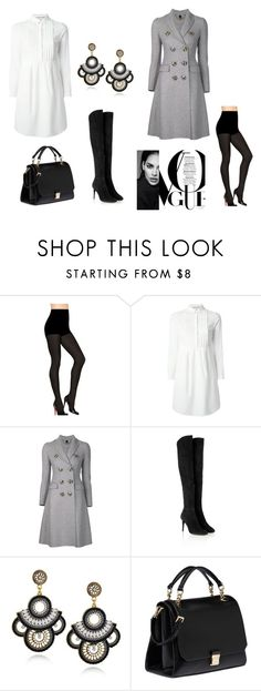 """""""Untitled #44"""" by acaguiar on Polyvore featuring Hanes, Burberry, Jimmy Choo and Miu Miu"""