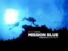MISSION BLUE // is a documentary made of 78 year old ocean researcher Sylvia Earle and meant to engage the public. The ocean might look same on the surface but there's a lot we don't know..