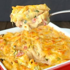 Baked Chicken Ranch Pasta