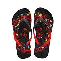 7eec4fa0a9824c  Visit to Buy  Hotmarzz Women Flip Flops Summer Slippers Black 2017 Ladies Sandals  Beach Shoes Heart Valentines Woman House Shoes Pool Slippers