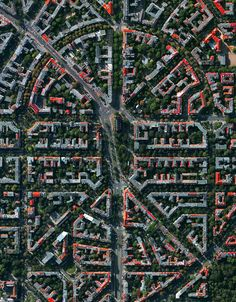Aerial view, Berlin Gallery of Civilization in Perspective: Capturing the World From Above City From Above, City Layout, Types Of Planning, Urban Design Plan, Urban Fabric, Urban City, Urban Planning, Aerial Photography, Photography Ideas