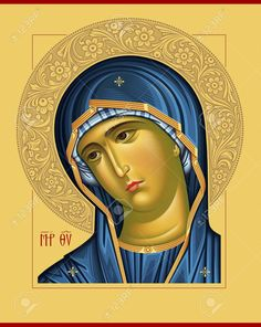 Byzantine Icons, Byzantine Art, Religious Icons, Religious Art, Madonna, St Catherine Of Alexandria, Jesus And Mary Pictures, Greek Icons, Church Icon