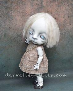 BJD Art Doll Fine Art Print. Gothic. 8''x10''. Dark by DarkAlley