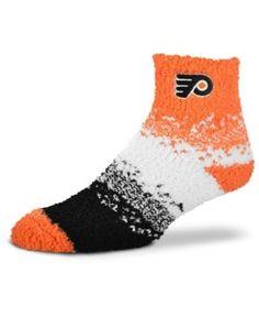 For Bare Feet Philadelphia Flyers Marquee Sleep Soft Socks - Orange M