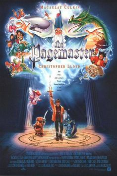 The Pagemaster (1994). Macaulay Culkin, Christopher Lloyd, Whoopie Goldberg, Patrick Stewart. Animated | Adventure | Comedy.