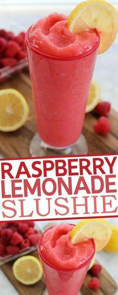 Lemonade Slushie Raspberry Lemonade Slushie Recipe: the recipe seems to have left out the vodka.Raspberry Lemonade Slushie Recipe: the recipe seems to have left out the vodka. Smoothie Drinks, Healthy Smoothies, Healthy Drinks, Healthy Food, Nutrition Drinks, Breakfast Smoothies, Healthy Cooking, Lemonade Slushie, Strawberry Lemonade