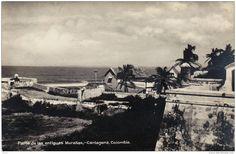 Foto antigua. Cartagena, Colombia