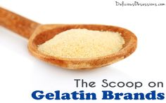 The Scoop on Gelatin Brands // deliciousobsessions.com // #gelatin #brands #superfood