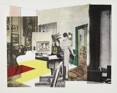 Interior. October 1964 (published 1965) | Richard Hamilton (British, 1922–2011) | Medium: Screenprint