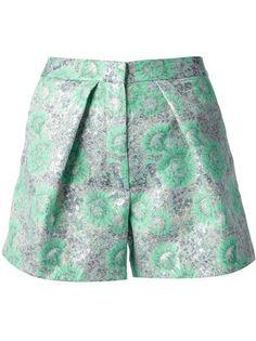 MSGM - #floral brocade #shorts