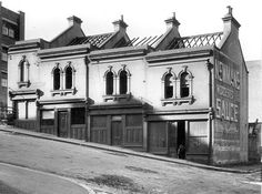 Lower Fort St,Sydney in 1922. *Whitley and Gately Fish and Chips 18 Lower Fort St. •State Archives of NSW•