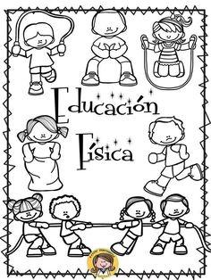 Educacion Fisica Para Colorear 92917 Infovisual