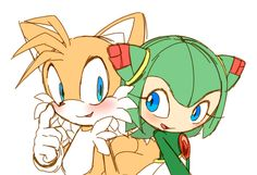 I do ship these two. For a VERY long time, no one was good enough for Tails in my mind until she came along. I actually like her.