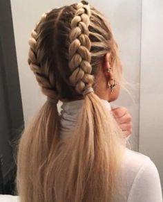52 Braid Hairstyle Ideas for Girls Nowadays, 52 Braid Hairstyle Ideas for Girls Nowadays, Related posts:Sommerhochsteckfrisuren für lange Haare - Neu Haare Frisuren 2018 - My. Long Hairstyles, Pretty Hairstyles, Hairstyle Ideas, Braided Hairstyles For School, Hairstyles With Braids, French Braid Hairstyles, Different Hairstyles, Clubbing Hairstyles, Relaxed Hairstyles