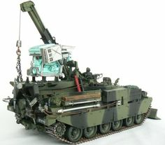 #Chieftain #ARRV# Mk-7 #1/35 #from #Accurate #Armour