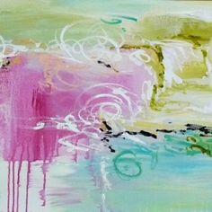 A start to finish explanation, with photos, of a fun and cheery DIY painting. Make your own abstract!