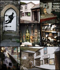 Museum of Witchcraft in Boscastle, Cornwall, is a museum dedicated to witchcraft. It has the largest collection of witchcraft and Wiccan related artefacts in the world. It opened on the Isle of Man in 1951, moving to its current location in 1960.  The museum holds a large number of artefacts, much of which once belonged to the museum's founder Cecil Williamson, including human remains, and currently also holds the Richel collection of witchcraft regalia that came to the museum in 2000 from…