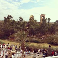 Yardenit Baptismal site currently averages 400,000 visitors each year representing all faiths. #Yardenit #YardenitIsrael