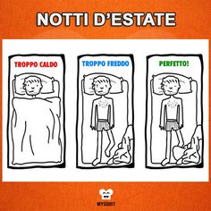 Ogni estate la stessa storia. #vignette #umorismo